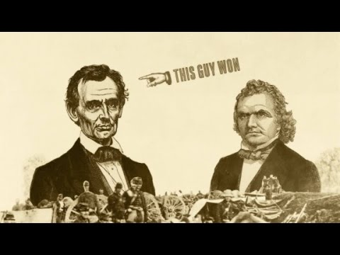 Lincoln and Douglas: The title match of titans