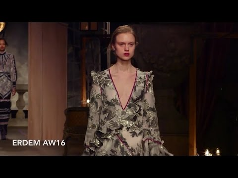Erdem AW16 at London Fashion Week