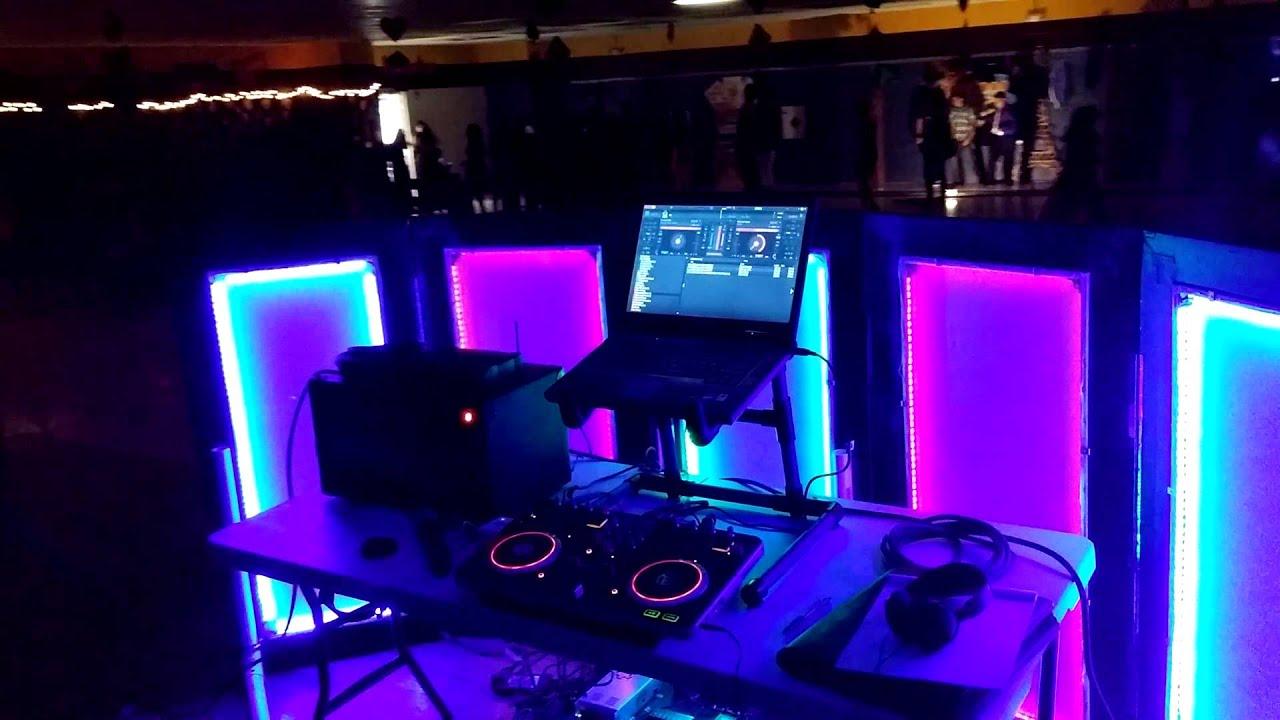DIY LED DJ Facade