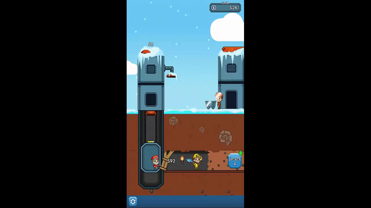 Idle Miner Tycoon - Android Gameplay HD