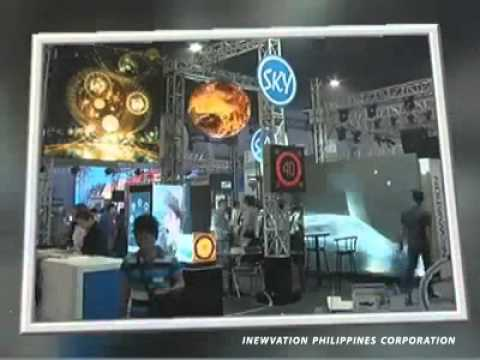 Inewvation Philippines Corp exhibit booth in Umagang kay Ganda