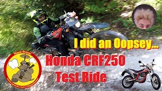 A Bikers Lesson & Bike Swap - Honda CRF250L Offroad