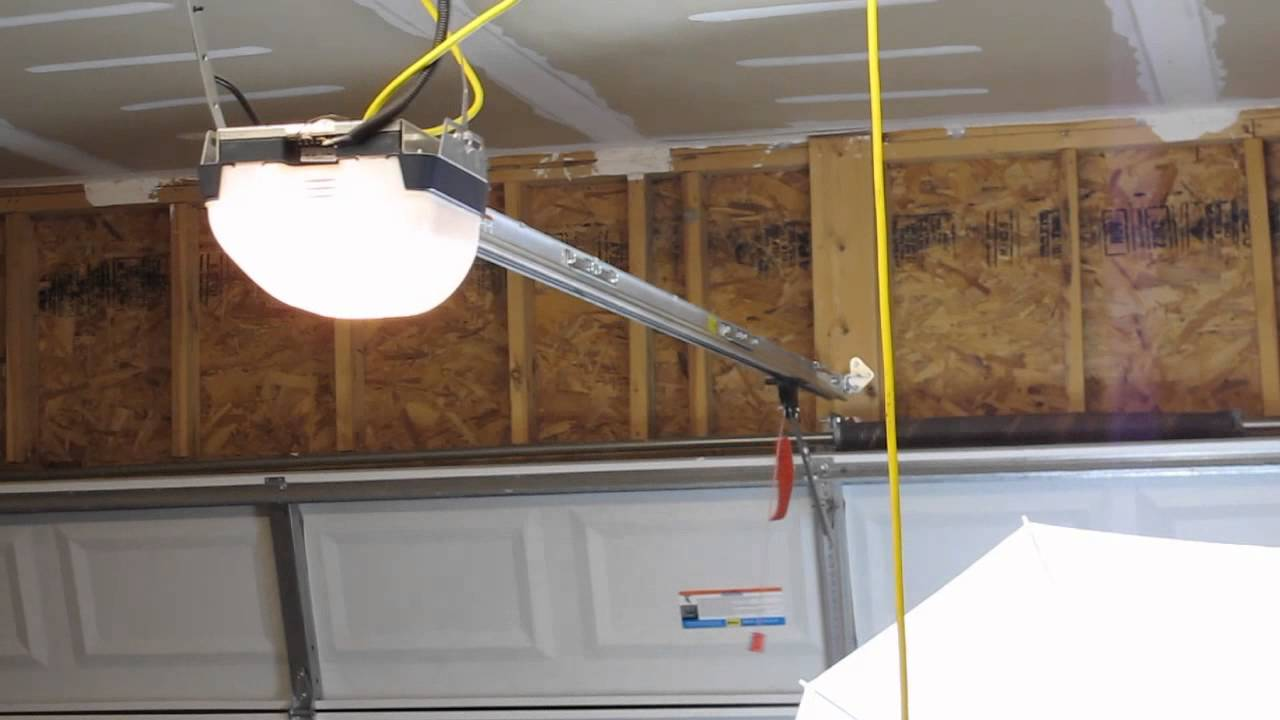 Garage Door Opener Noise And Operation Issues Before And