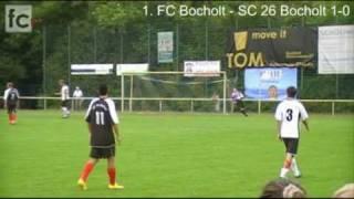 Stadtmeisterschaften 2010: 1. FC Bocholt - SC 26 Bocholt 3:0 (1:0)