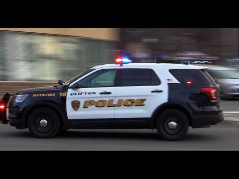 Clifton Nj Police Unit Supv Responding On Clifton Ave Feb 1st