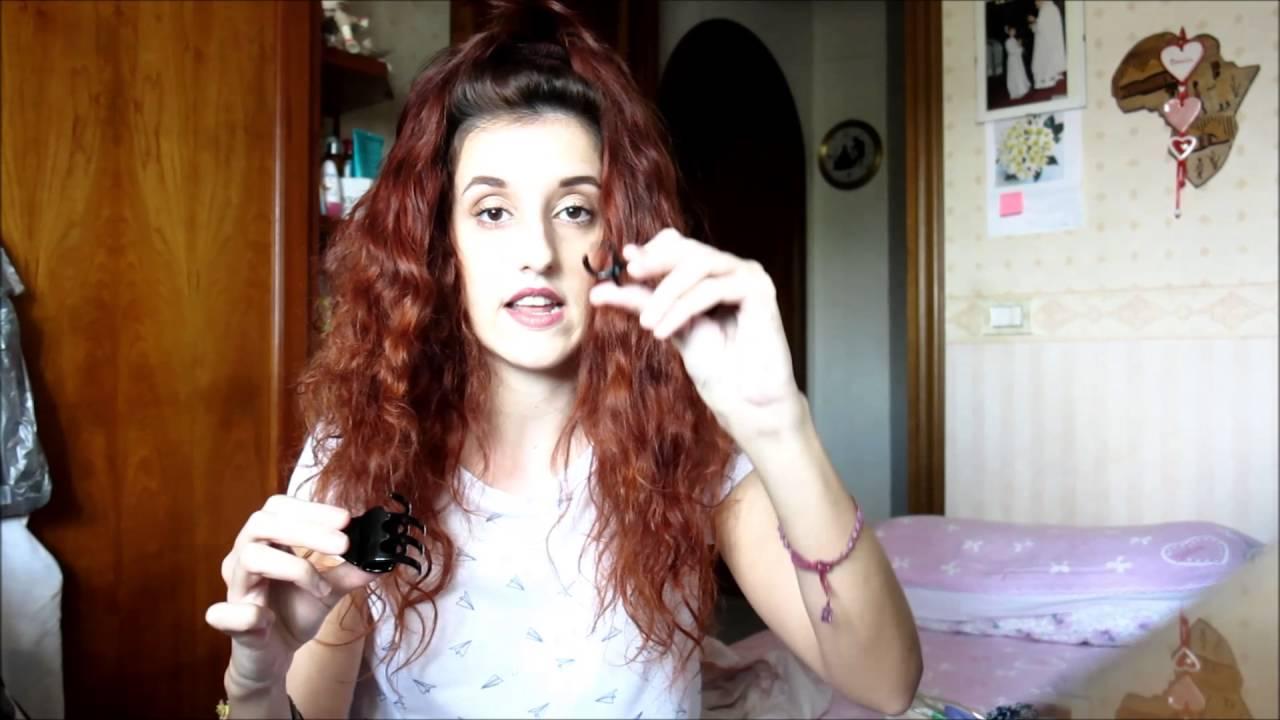 Asciugare i capelli ricci corti