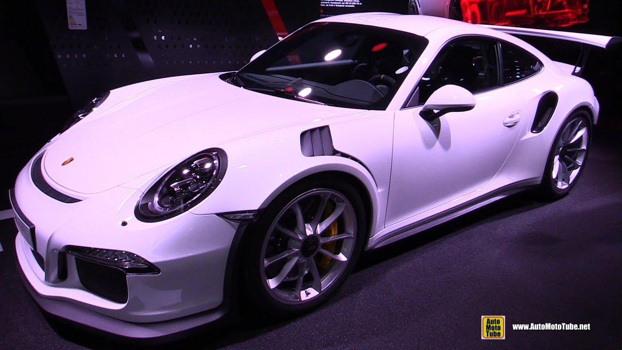 2016 porsche 911 gt3 rs exterior and interior walkaround 2015 frankfurt motor show youtube