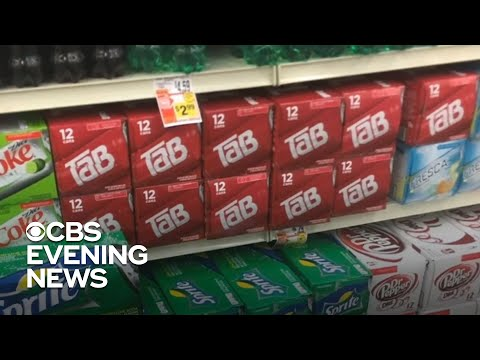 Diet cola TaB is the latest victim of the pandemic