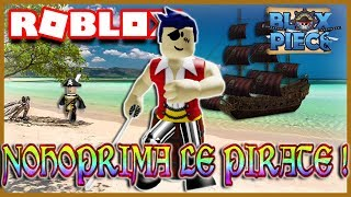 NOHOPRIMA BECOMES A PIRATE! Roblox Blox Piece