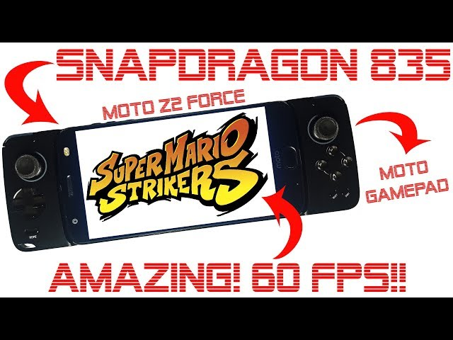 SUPER MARIO STRIKERS / MARIO SMASH FOOTBALL ON ANDROID (Dolphin Emulator - Snapdragon 835) 60 FPS!!