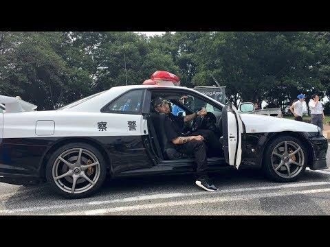 警察公認GTRパトカーからヤクブーツはやめろ。SHOのライブがNEXS新潟.万代シティパークにて大盛況。焼NIQ。SHO FREESTYLE TV Part 563