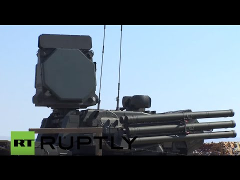 Syria: Footage shows Russian Pantsir-S2 & S-400 Triumf at Hmeymim airbase