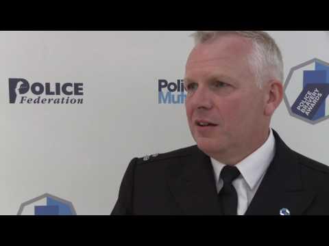 Police Bravery Awards 2016 regional winner Met's Ian Molineaux