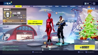 LUCHS SKIN SUR FULL !! NUSSKNACKER dans la boutique Fortnite Live Deutsch (Road to 300 subscriptions) Solotka bam