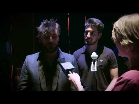 2CELLOS interview at Cello Biennale Amsterdam 2016