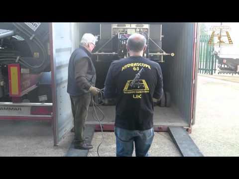 Arrival of 73ft Hydrascope Crane