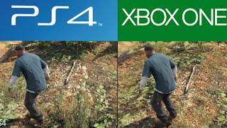 GTA 5 - PS4 vs Xbox One Comparison (GTA 5 Next-Gen Xbox One vs PS4 Graphics Comparison)