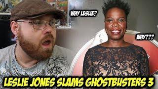 Leslie Jones Slams Ghostbusters 3!!!