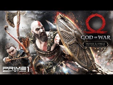 Prime1Studio: Kratos & Atreus (God of War) Statue