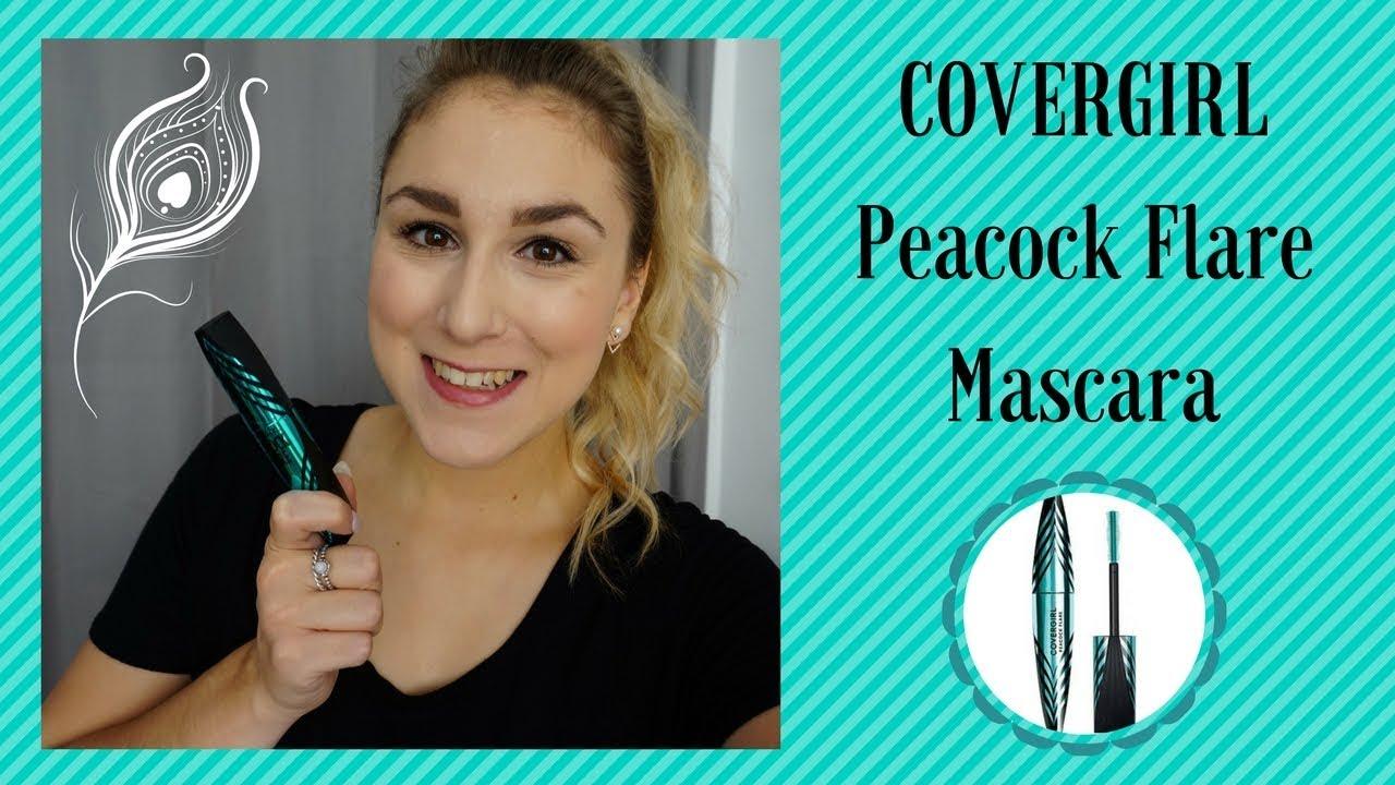 12711062e6c COVERGIRL Peacock Flare Mascara | Première impression - YouTube