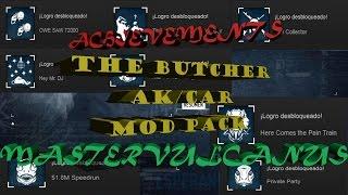 The Butcher AK/CAR Mod Pack Achievements/Logros - Payday 2
