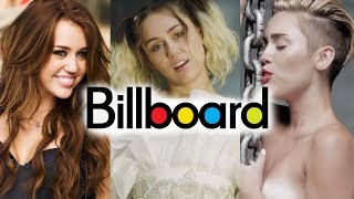 Miley Cyrus - Billboard Chart History