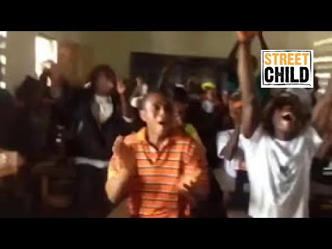 A Liberian community reacting to free education - Street Child