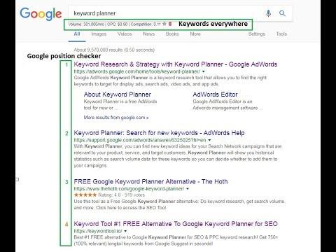 Keyword tool and search positions tool, структура на сайт и обща информация