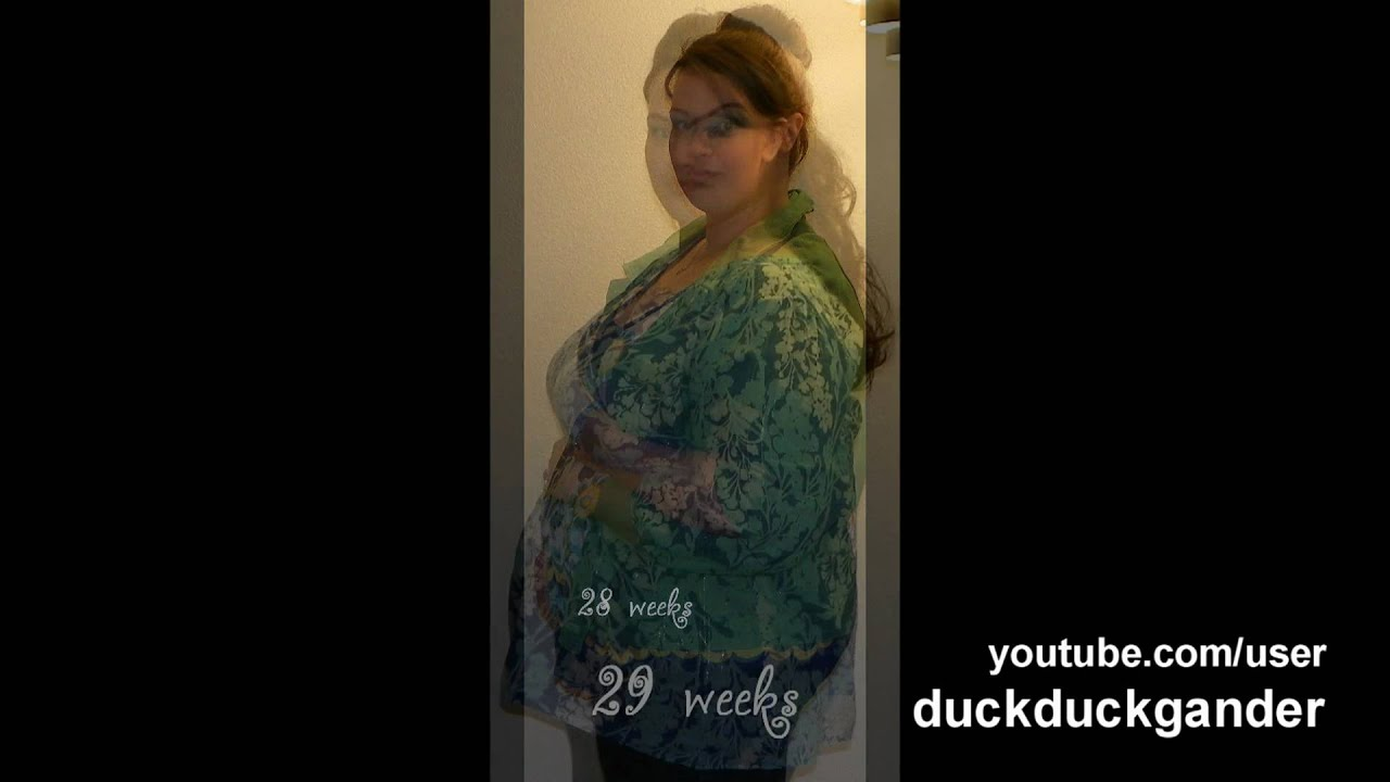 weeks 1829 plus size pregnancy progression pictures youtube
