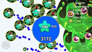 EVERY AGAR.IO MOBILE PLAYER WILL WATCH THIS INTENSE TAKEOVER