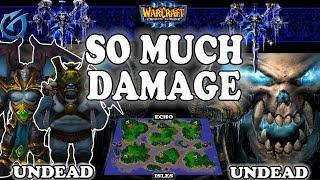 Grubby | Warcraft 3 TFT | 1.30 | UD v UD on Echo Isles - So Much Damage