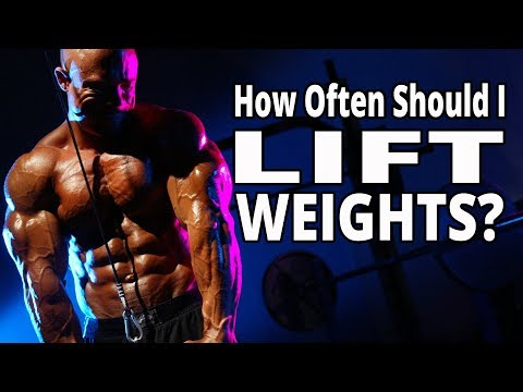 How Often Should I Lift Weights? - Three Crucial Factors That Will Make Your System Work