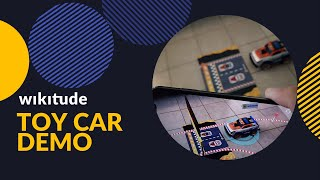 Augmented Reality Toy Car Demo powered by Wikitude - Carrera® Racing Car