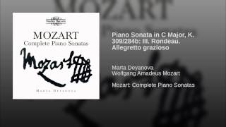 Piano Sonata in C Major, K. 309/284b: III. Rondeau. Allegretto grazioso