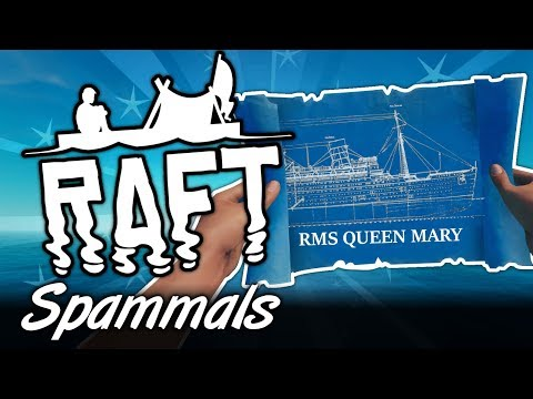 Raft Creative | Part 1 | BUILD THE QUEEN MARY!