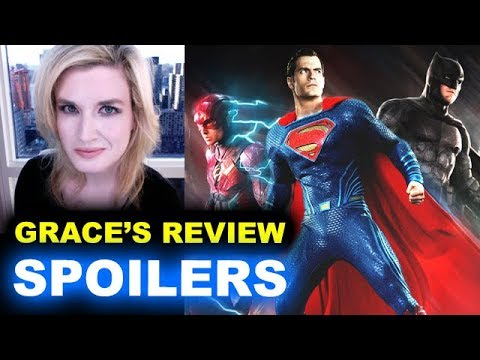 Justice League SPOILERS Movie Review