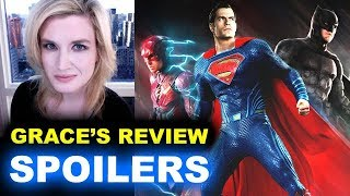 connectYoutube - Justice League SPOILERS Movie Review
