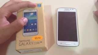 Review Samsung Galaxy Core SM-G386F 4G y NFC (Español)