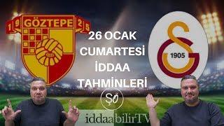 iddaabilirTV/26 ocak iddaa tahminleri/spor tahmin/free picks Video