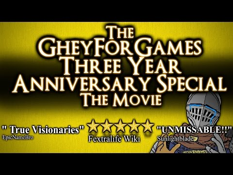 THE GHEYFORGAMES 3 YEAR ANNIVERSARY VIDEO: THE MOVIE - ALL THE BEST BITS FROM 17/06/15 to 17/06/16