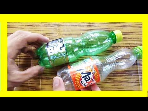 5 trucos con botellas de plstico o life hacks diy youtube - Botellas De Plastico
