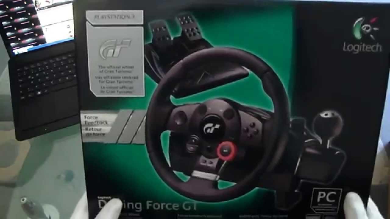 logitech lenkrad driving force gt racing wheel review for. Black Bedroom Furniture Sets. Home Design Ideas