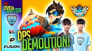 Overwatch - How Spitfire DEMOLISHED Fusion! - The INSANE DPS Duo! [Pro OverAnalyzed]