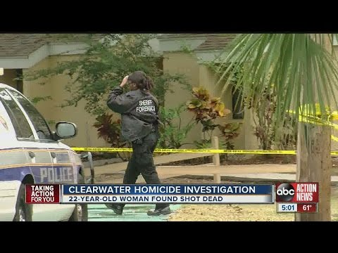Clearwater police investigating homicide after reports of gunshots