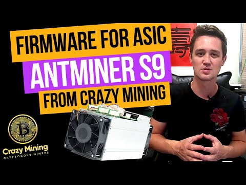Asic Firmware Antminer S9 - 20th/s low power mode  How to overclock