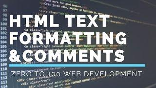 3. HTML Text Formatting & Comments | Zero To 100 Web Development Mp3