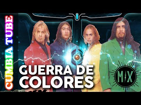 Guerra De Colores - Mix | Videos Oficiales Cumbia Tube