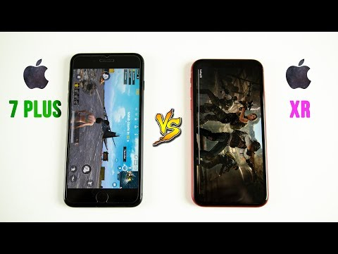 iPhone XR vs iPhone 7 Plus SPEED Test - You Won't Believe This..