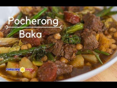 [Panlasang Pinoy] How to Cook Pocherong Baka - YouTube