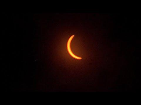 Total eclipse dazzles over Nashville